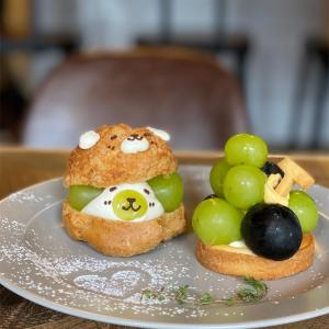 【COCOCHI CAFE】京都丸太町カフェ今度は葡萄🍇の季節がやってきた💕