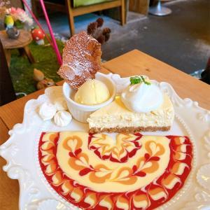 【Cafe de Agenda】🦋カフェデアゲンダ🦋神戸で行きたい美しいチーズケーキのカフェ☕️