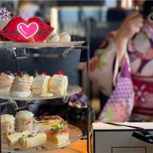 【京都で過ごすお誕生日プラン②🎂】人気のマーサーブランチテラスハウス京都のアフタヌーンティーと八坂神社へ初詣⛩