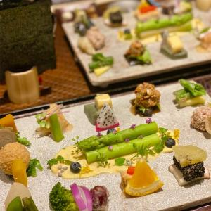 【AWOM西木屋町】京都木屋町隠れ家レストランで身体に優しい色とりどりの美しい手織り寿司🌈✨