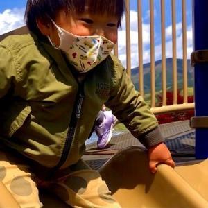 道の駅 川場田園プラザでお孫ちゃんと遊ぶw