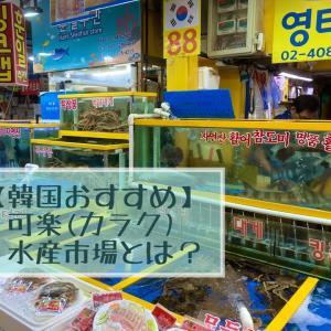 【韓国おすすめ】可楽(カラク)水産市場とは?
