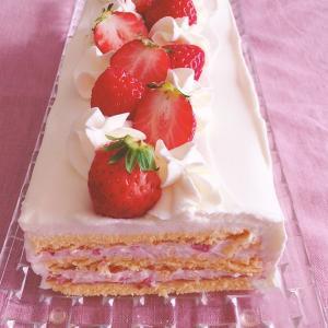 【インスタグラム無料オンラインレッスン】ひな祭りいちごショートケーキ@fyoshikawalesson