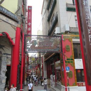 日本三大中華街のひとつ、長崎新地中華街。