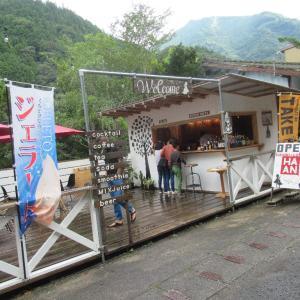 絶景楽しみながらお茶するシャレオツ、HANAN coffee。