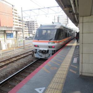 新大阪駅から草津駅まで敢えて特急ワイドビューひだ号で移動です。