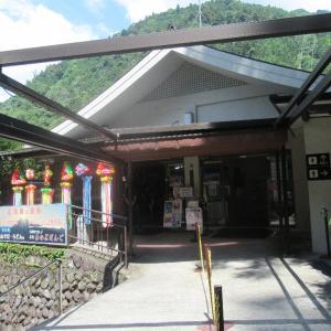 標高差763mは関東一、身延山ロープウェイの久遠寺駅。