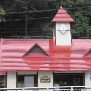 長島ダム駅は、静岡県榛原郡川根本町犬間にある、大井川鐵道の駅。