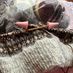 編み物人生・前職は「愛人」