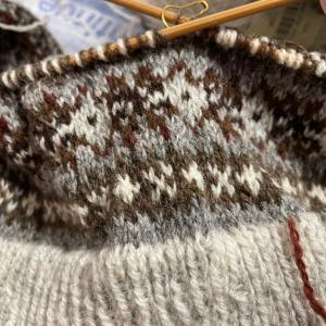 編み物人生・フェアアイルと暮らし