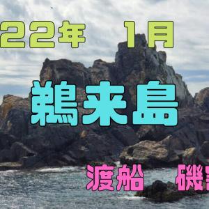 2022年 高知県鵜来島 1月 渡船磯割表