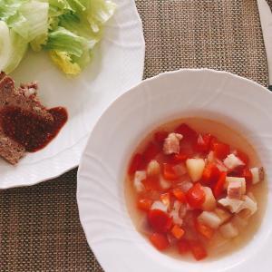 野菜たっぷりミネストローネのレシピ