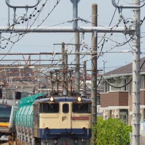 米タン返空は安善駅まで(2020年8月25日火曜日)