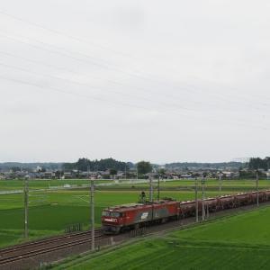 常磐線にて安中貨物を捕獲しよう!(2021年7月6日・火曜日)