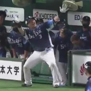 【5.7ソフトバンク戦】山川穂高、復帰戦でホームラン!
