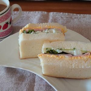 どんだけ自己中のサンドイッチ