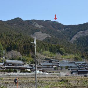 兵庫県神崎郡神河町の白岩山(973m)