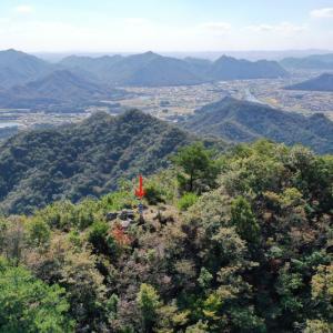 兵庫県西脇市の三角点山(456.7m)