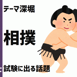 テーマ深堀:相撲【通訳案内士試験頻出テーマ】