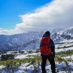ゴンドラ使って八方尾根へ!秋登山のつもりが雪山に(笑)チェーンスパイク等の装備は必須!