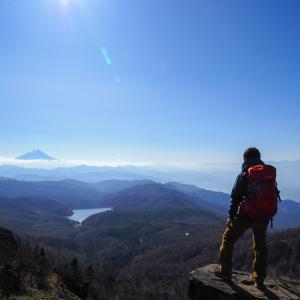 大菩薩峠登山!上日川峠~唐松尾根~大菩薩峠ルート。稜線から見える富士山が最高!