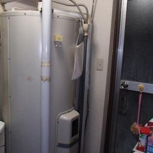 電気温水器が壊れてマイコン式電気温水器に取り換えました