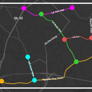 ホーチミンの5か所の道路工事で渋滞緩和を目指す