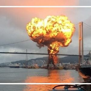 クアンガイ省での石油タンカー爆発
