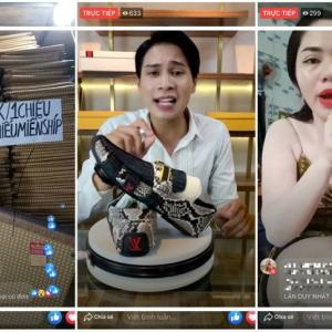 ベトナムのライブストリーム通販の激増