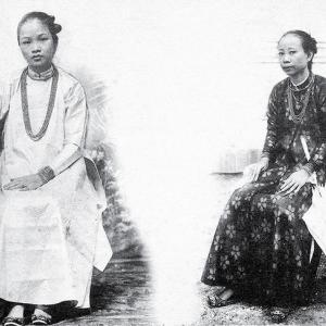 100年前のベトナム人