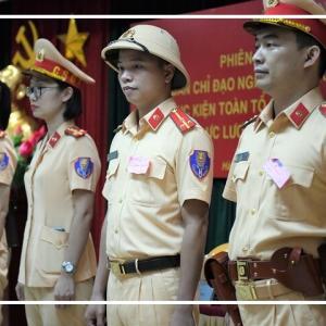 交通警察の新制服プロジェクト