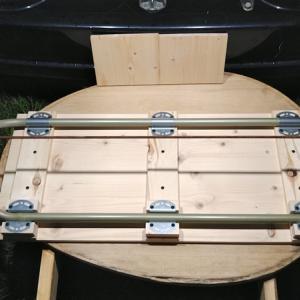 廃材をリメイク ~折りたたみテーブルをつくる~ part7