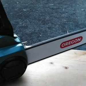 チェンソーのガイドバー交換part2「オレゴン1.1mmガイドバー編」