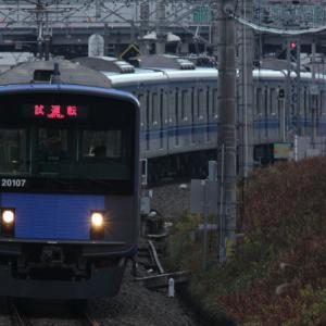 2013/12/10 20107F試運転【所沢4番→新宿線上り】