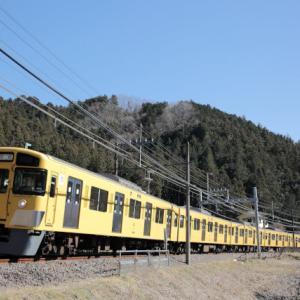 9104F10両編成が横瀬へ回送【入換も解説します】