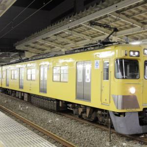 【2411F幕車前パン】西武新宿線各停所沢行き