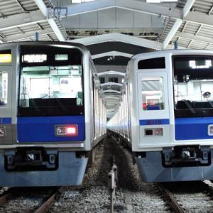 西武池袋線の6000系が新宿線を回送