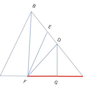 【中学受験 算数】三角形の面積比は底辺探すだけでOK