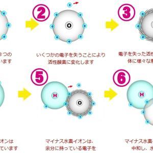 【初心者にオススメ】【5】 からだは電子を必要としている! 水素の電子が猛毒の活性酸素に電子を与え無害化する!