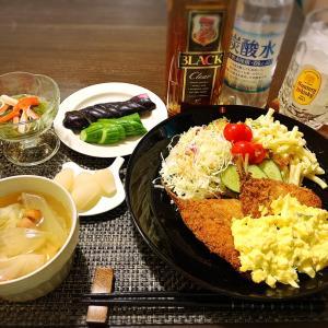 *食べそびれた夕飯〜こんな日もあってええよね!ごはん*