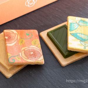 【和菓子でバレンタイン】叶 匠壽庵のチョコ最中「心よせ 結」が可愛くておいしい!隠れハートも