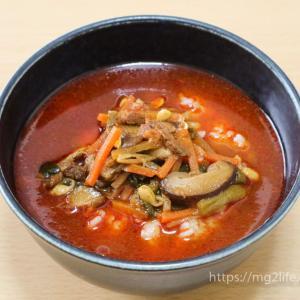 【無印良品】ごはんにかける「ユッケジャン」を食べてみた!