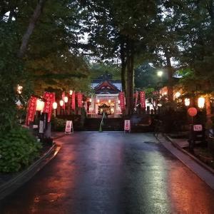 山中諏訪神社の安産祭りでお米と短いロウソクを貰った