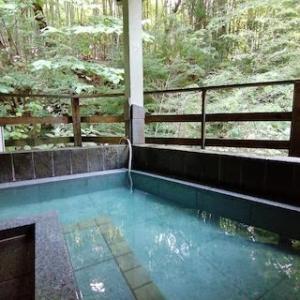 神奈川県で源泉かけ流しの日帰り温泉が楽しめる【かぶと湯温泉山水楼】