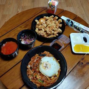 韓国式中国料理、いや大邱式中国料理の中華ビビンパを食べました。