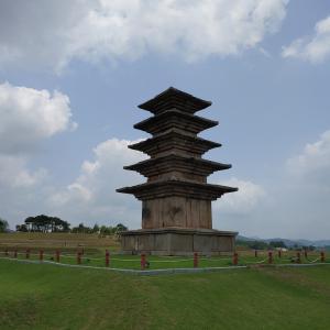 今年の「いきなり旅行」⑯。益山市(イクサンし)の「百済王宮跡」に行きました。