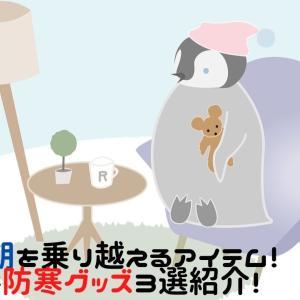 寒い時期を乗り越えるアイテム!便利な防寒グッズ3選紹介!