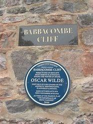 イギリス文学散歩 オスカーワイルド が冬を過ごした Babbacombe Cliff