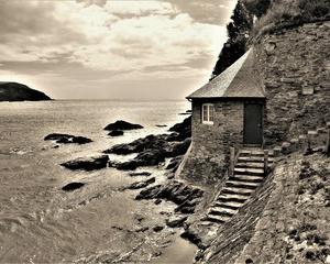 イギリス サウスウェストコーストウォーク 南デボン Mothecombe Beachから Stoke Point へ