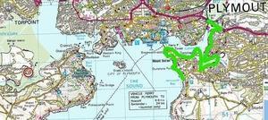 イギリスコーストパスを歩く。プリマス湾の東側を攻略!Part 1.